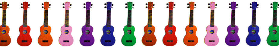 Ukulele colours