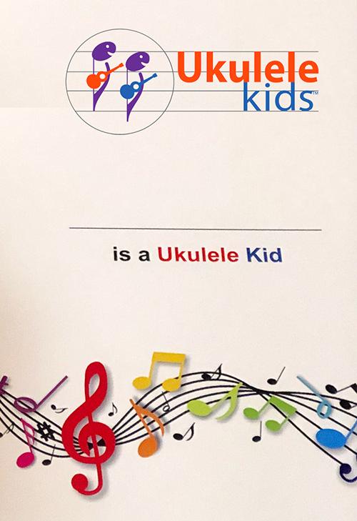 Ukulele Kids songbook
