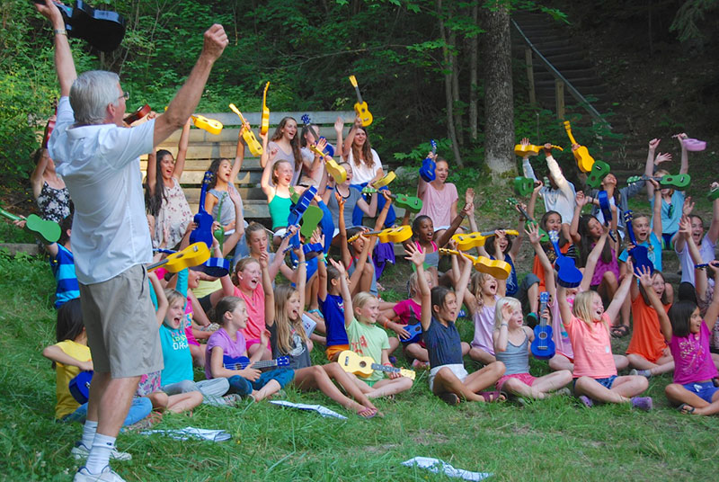 Ukulele Kids Goes to Camp